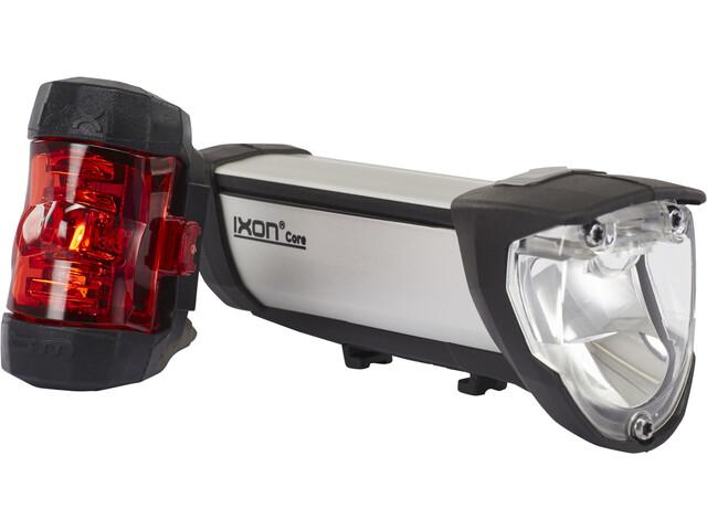 Busch + Müller IXON Core/IXXI Beleuchtungsset silber